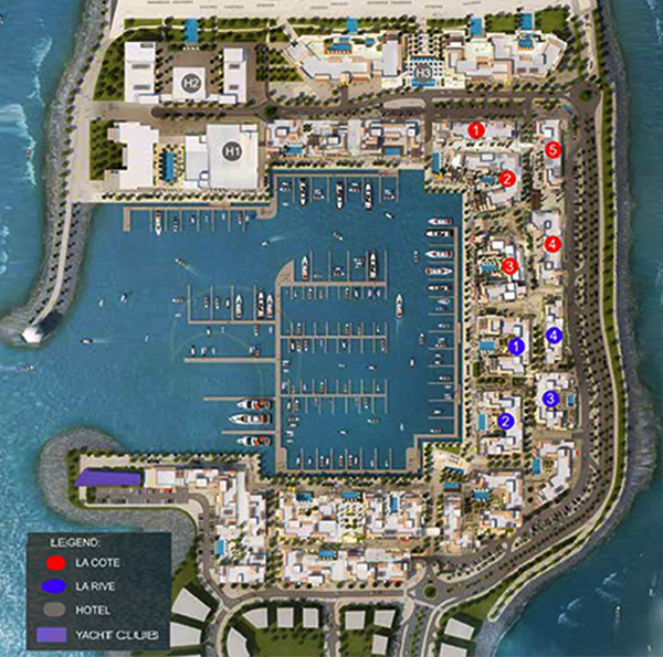 Meraas Port de La Mer Beach Residences Master Plan